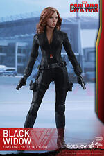 Hot Toys Black Widow Captain America Civil War 1/6 Scale Figure Johansson New