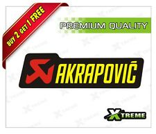 XTREME-in AKRAPOVIC REFLECTIVE STICKER FOR CAR, BIKE, DOOR,GLOSS (5 inch)