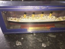Atlas Editions - RMS Titanic Luxury Liner 1:1250  New With COA 21.5cm In Length