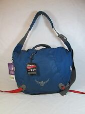Osprey FLAPJACK COURIER  Fabric Courier Travel Bag Blue Sz Large