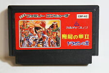 Hiryu no Ken II 2 Dragon's Wing FC Nintendo Famicom NES Japan Import US Seller