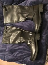 """black womens boots Size 11 """"REDUCED"""""""