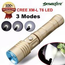 Focus 3500 Lumens 3 Modes CREE XM-L T6 LED 18650 Battery Flashlight Taschenlampe