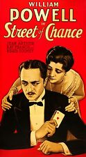 """Street of Chance"" (1930) - William POWELL - Classic Underworld Gambler!!! - DVD"