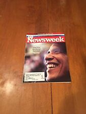 Newsweek Magazine Our Time for Change has Come January 14 2008 Barack Obama