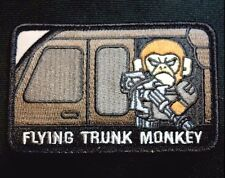 FLYING TRUNK MONKEY ARMY USA ISAF TACTICAL SWAT VELCRO® BRAND FASTENER PATCH