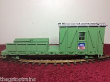 USA TRAINS 1864 UNION PACIFIC 25 TON CRANE CAR - G SCALE CRANE CAR - CAR ONLY