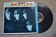 Beatles Meet The Mono Record lp VG-