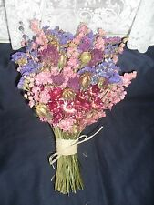 RUSTIC DRIED FLOWER BOUQUETS & POSIES