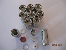 10 xPL259 compression plugs for RG213  10.3mm cable