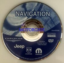 033AF Navigation DVD Update Dodge Jeep Chrysler