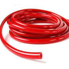 """ID:1/8"""" 0.125""""(3MM inner) TUBE PIPE RACING TURBO SILICONE VACUUM red HOSE 1 Foot"""