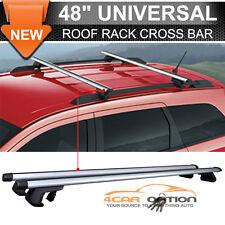 Aluminum 48 Inch 120CM Top Roof Rack Cross Bar Luggage Carrier Lock Adjustable