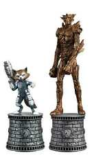MARVEL SUPERHERO CHESS FIGURE COLLECTION SPECIAL #2 GROOT & ROCKET  #soct16-326