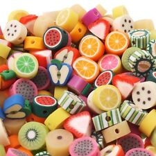 10mm Fimo Fruit Beads Mix - 50pk