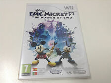 EPIC MICKEY 2 THE POWER OF TWO . Pal España ... Envio  Certificado ... Paypal