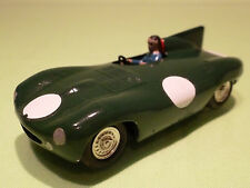 SOLIDO 100 JAGUAR D-TYPE LE MANS - GREEN 1:43 - RARE SELTEN - GOOD CONDITION