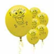 Spongebob Birthday Party Latex Balloons