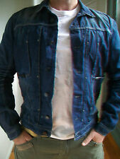 MENS DIESEL 'JUZICON ZIP' DENIM JACKET RRP $540 - BNWT - SIZE XXL