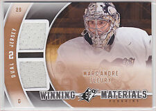 2011 11-12 SPx Winning Materials #WMMF Marc-Andre Fleury Level E
