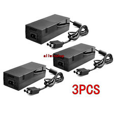 LOT3 Power Supply AC Adapter Cord Cable Brick for Microsoft XBOX ONE Console USA