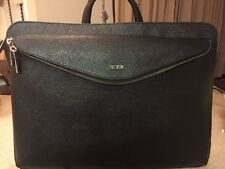 NEW TUMI SINCLAIR LENA PORTFOLIO BRIEF BLACK  79365D $295