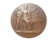 BRONZE MEDAL BY P. GRANDHOMME - MILITARY PREPARATION - SPORTS. M39