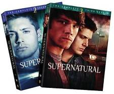 Supernatural: Season 2 and 3 Complete Seasons Two & Three DVD Sets (LN)