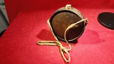 VERY RARE CIVIL WAR ERA CONFEDERATE WOODEN CANTEEN FROM THE GETTYSBURG CAMPAIGN