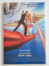 A View to a Kill FRIDGE MAGNET (2.5 x 3.5 inches) movie poster james bond 007