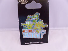 Disney * WHERES MY WATER - GATORS * New on Card Water Park Attraction Pin