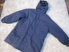 Men's EDDIE BAUER Hooded Jacket Coat Parka w/Removable Goose Down Liner Sz L