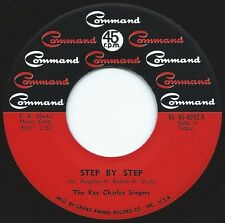 RAY CHARLES SINGERS Step By Step b/w Birds Of A Feather ((**NEW 45 from 1960s**)