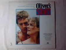 COLONNA SONORA Oliver's story lp ITALY FRANCIS LAI LEE HOLDRIDGE