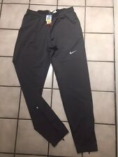 Nike Mens Nike Dri-Fit Stretch Knit Athletic Running Pants - Medium M workout