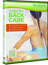 RODNEY YEE - YOGA FOR BACK CARE  - DVD - UK Compatible
