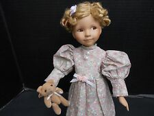"""14"""" -  Dianna Effner Artist Doll Goldilocks (Expressions Collection) with stand"""