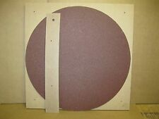 Luthier's 20' contoured radius dish/disk WITH MATCHING ABRASIVE !!