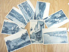 Postcards FOWEY   a large original collection  as one lot   GIFT POTENTIAL !!