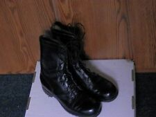 BLACK COMBAT BOOTS VIETNAM MEN SZ 8 REGULAR MARINES USA ARMY GENESCO Nov. 1973