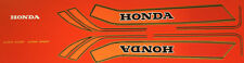Honda CB750F RC04 restauración DECAL set