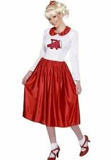 New Licensed Sandy Costume from Grease Adult Rydell High Cheerleader