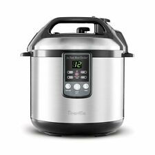 """Breville BPR600XL""""Fast Slow Cooker"""" Electric Pressure Cooker Plus Slow Cooker"""
