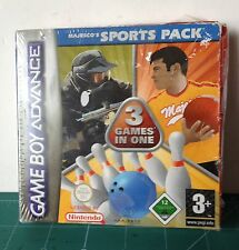 VideoJuego NINTENDO GAME BOY ADVANCE Majesco's Sport Pack 3 en 1 VER FOTO