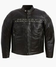 Harley Davidson Men Competition Leather JACKET(size 3XL)Tall 98024-12VT $570