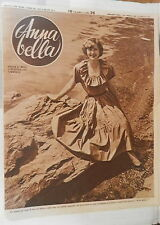 ANNA BELLA 1949 Willy Meyer Moda d estate mare Mona Williams Vera Vandel Liala