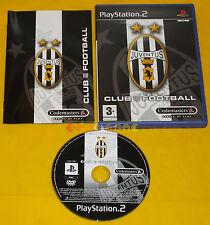 JUVENTUS CLUB FOOTBALL 2003-2004 Ps2 Versione Italiana 1ª Edizione •••• COMPLETO