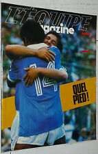 EQUIPE MAGAZINE N°118 1982 FOOTBALL MUNDIAL ESPANA 82 TOUR FRANCE NATATION USA