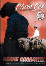 Chris Cox - Riding Correctly From Beginner to Advanced -  Horse Training 2 DVDs