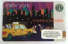 2010 Starbucks Collectible Gift Card. NEW YORK TAXI. Mint. Worldwide shipping.